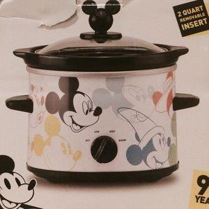 Disney Mickey 90 year anniversary slow cooker